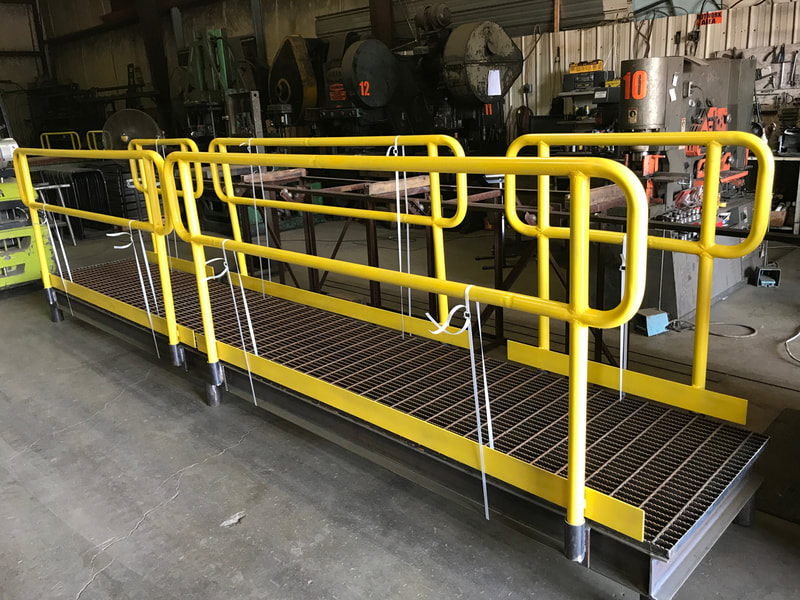 American Energy Fabrications handrail