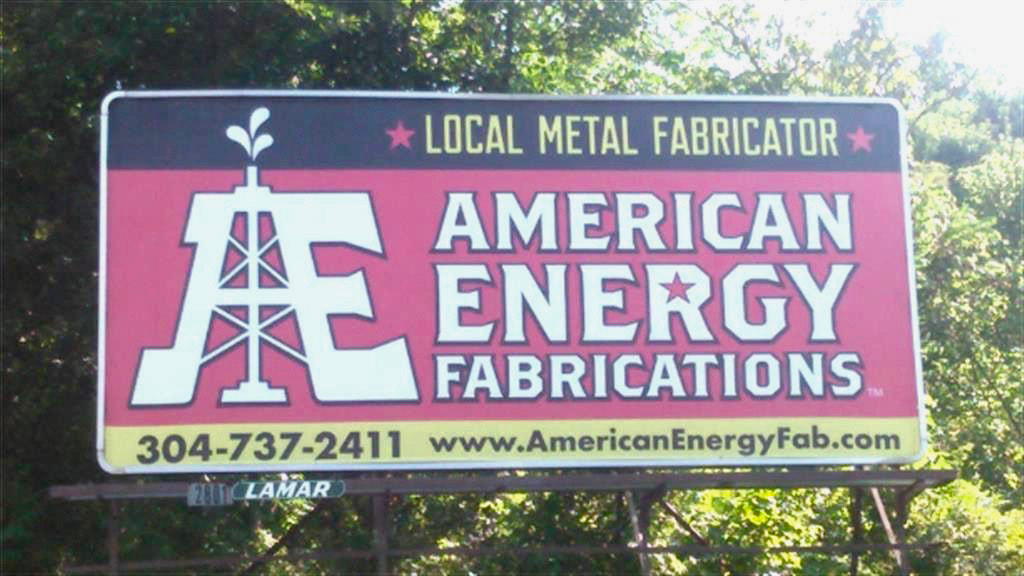 American Energy Fabrications billboard